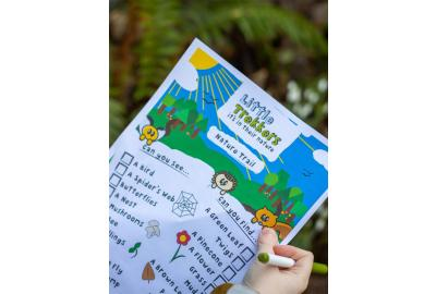 Get them outside with the Little Trekkers Nature Trail