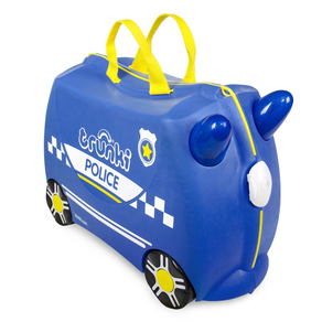 Trunki Percy Police Car Ride-On Suitcase