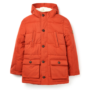 Joules Trail Showerproof Padded Parka Coat
