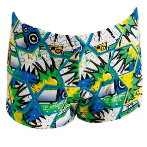 Zoggs New Wave Hip Racer Shorts
