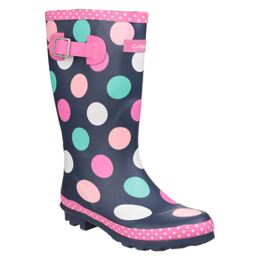 Cotswold Dotty Pull On Wellington Boots