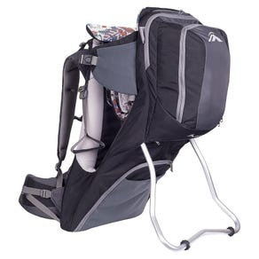 Macpac Possum Child Carrier - Black/Forged Iron - One Size