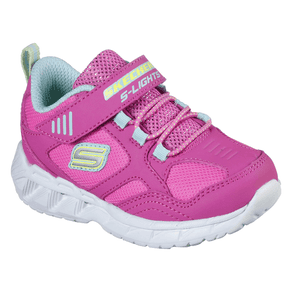 Skechers S Lights Magna-Lights Velcro Trainers