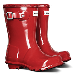 Hunter Little Kids Original Gloss Wellington Boots