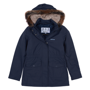 Barbour Girls Bournemouth Waterproof Jacket