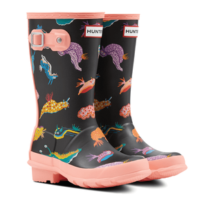 Hunter Kids Original Sea Monster Wellies