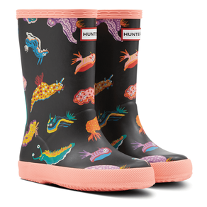 Hunter Kids First Classic Sea Monster Wellies