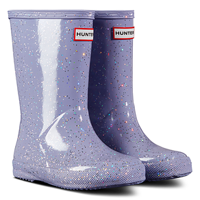 Hunter First Classic Giant Glitter Wellies