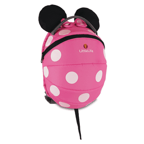 Littlelife Kids Pink Minnie Backpack