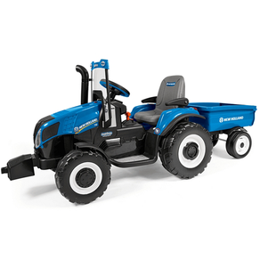 New Holland T8 12V Tractor with Trailer