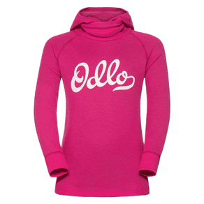 Odlo Warm Shirt With Facemask Thermal Base Layer Top