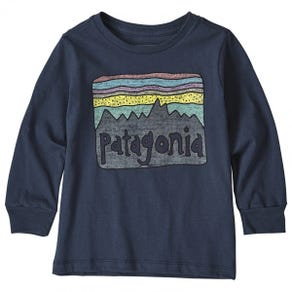 Patagonia Long Sleeve Graphic Organic T-Shirt