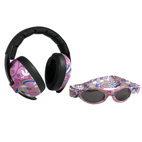 Banz Baby Ear Muff and Sunglasses Combo