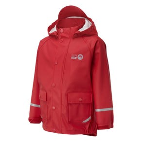 Spotty Otter Forest Ranger PU Jacket - Red - 5-6 Years (110-116cm)