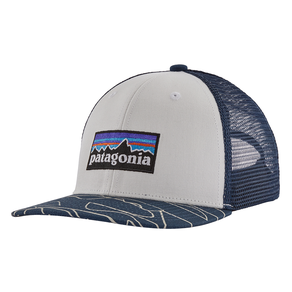 Patagonia Trucker Hat - White/Stone Blue - One Size
